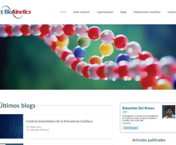 BioKinetics - website