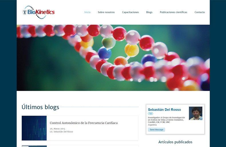 BioKinetics - website