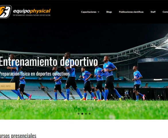 Equipo Physical - website