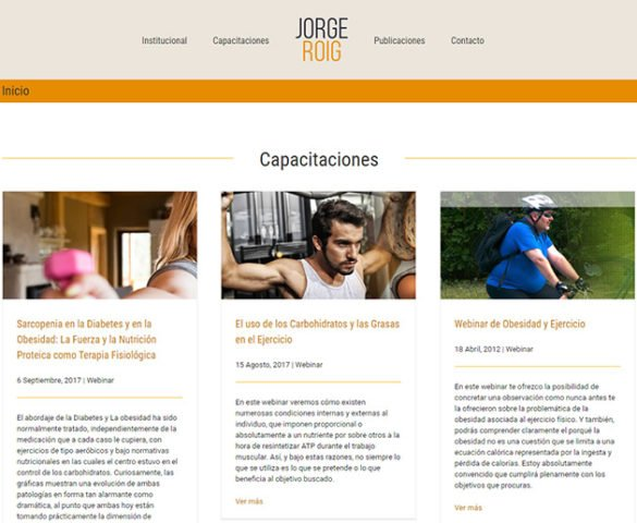 Jorge Roig - website