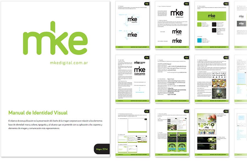 Mke - identidad visual