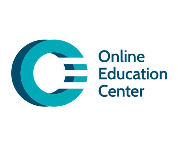 OEC - Online Education Center - Marca gráfica