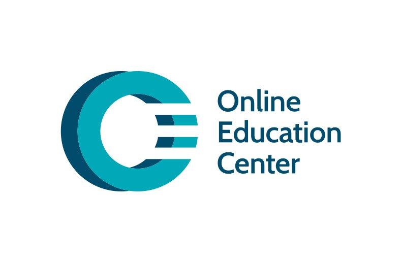 OEC - Online Education Center - Marca gráfica