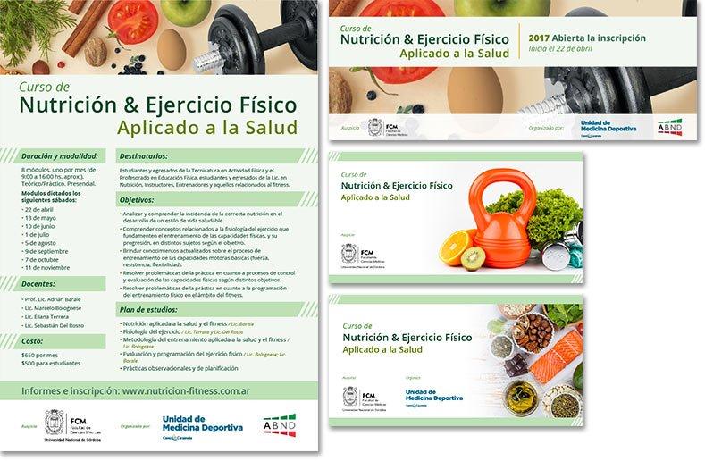 Curso de Nutrición y Ejercicio Físico