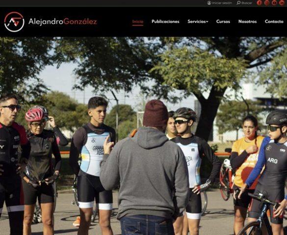 Alejandro González Entrenamiento - Website