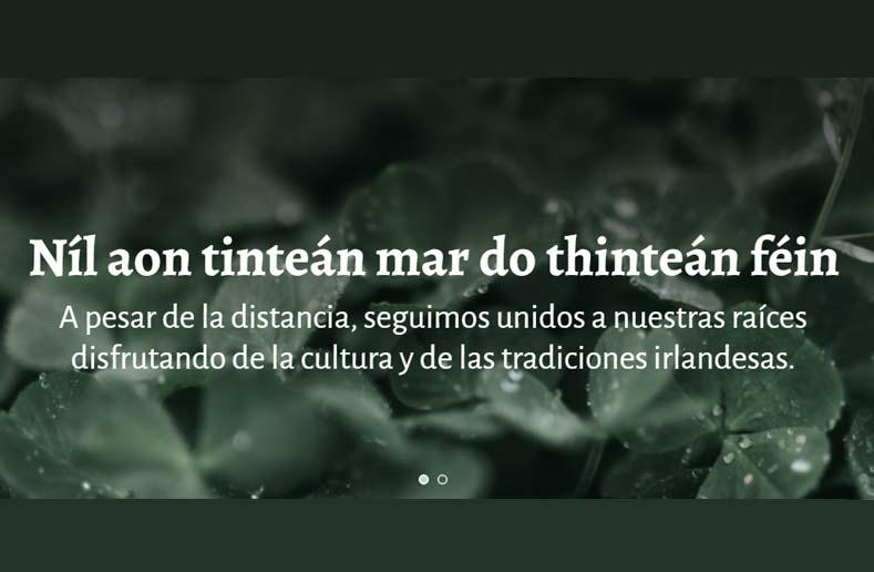Sitio web de Irlandeses de Córdoba