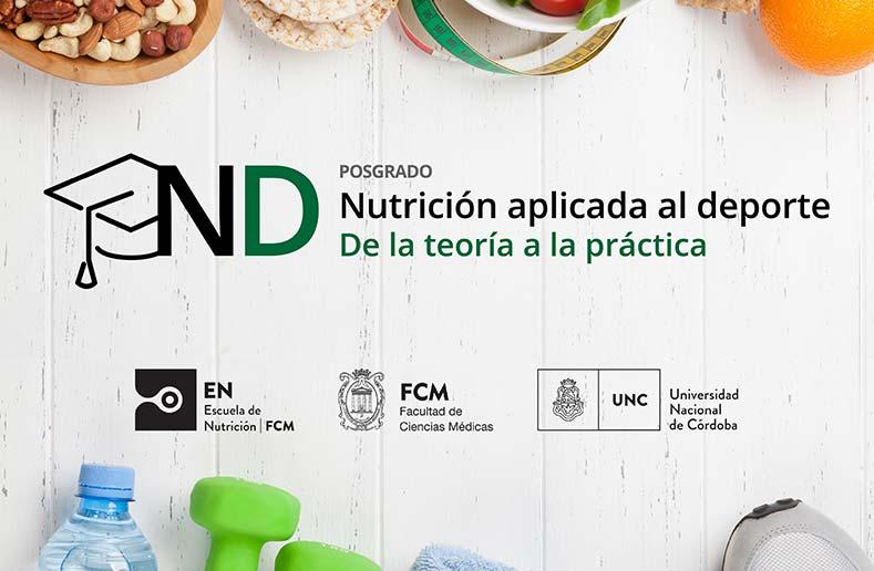 Posgrado en Nutrición Deportiva